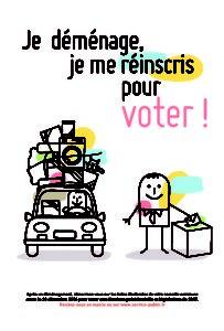 affiche inscriptions listes électorales