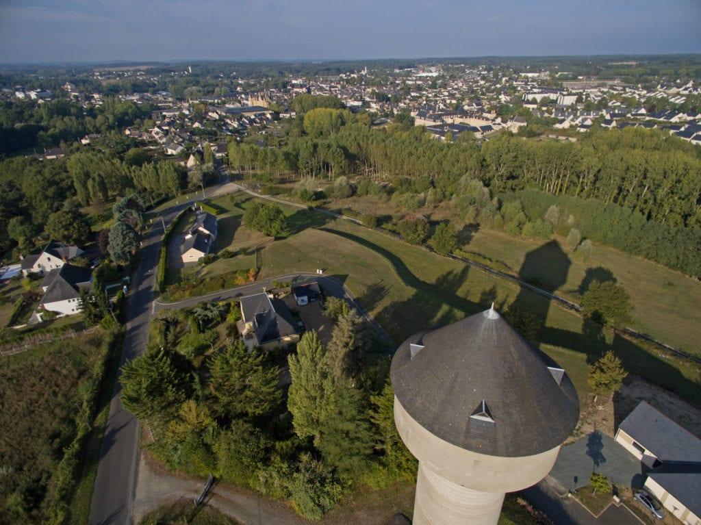 vue de Baugé (château d'eau) bauge_credit-r-vision_pf