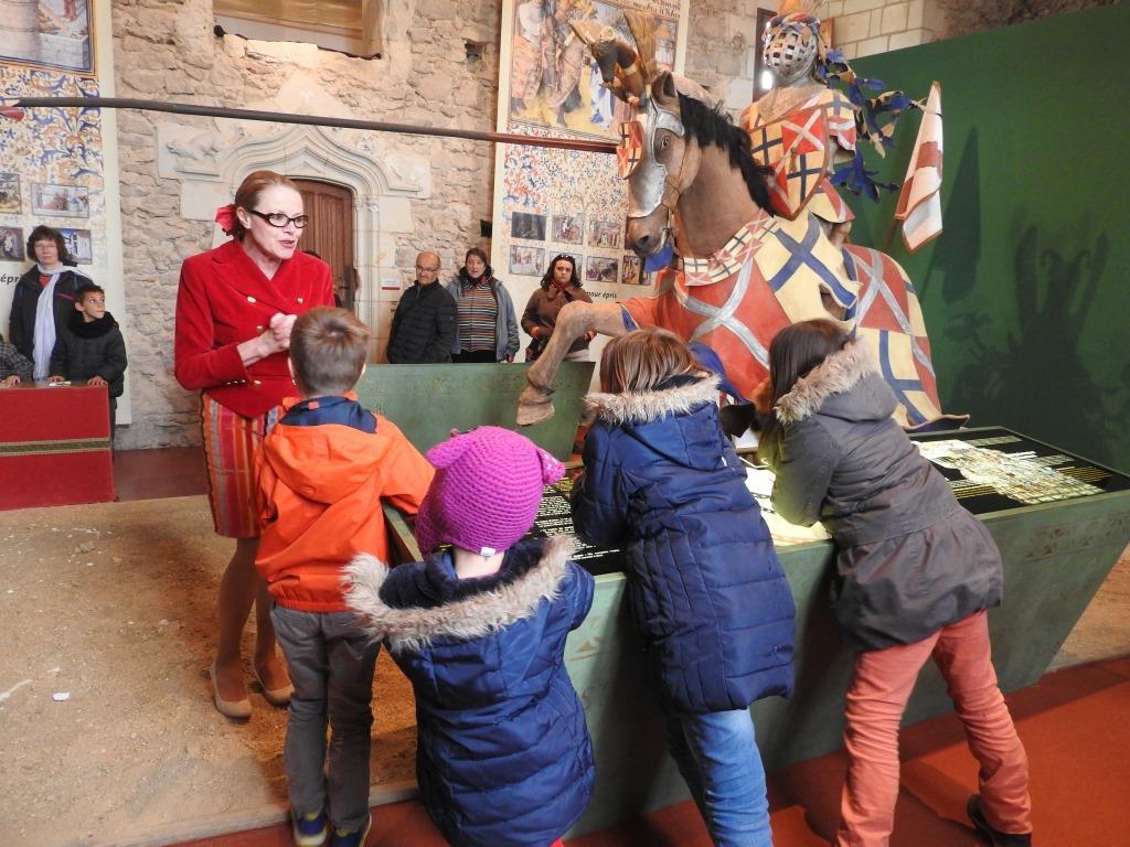 Visites théâtralisées du Château